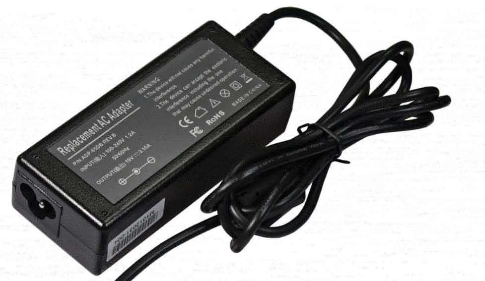 Iwill 40W (2.2A) 19V AC-DC adapter - Oxygen og Neon