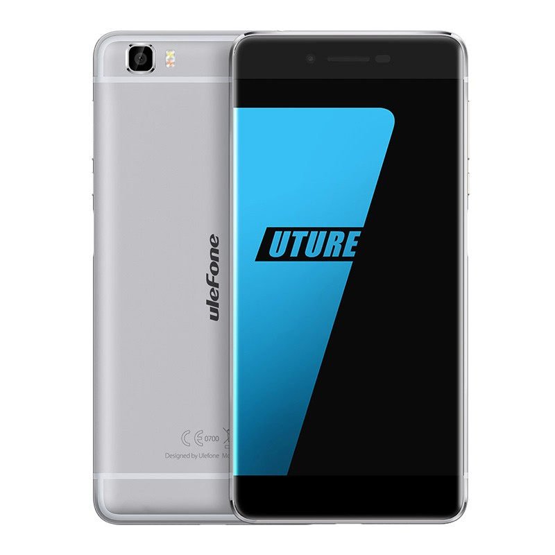 "Ulefone Future 4G LTE 5.5"" FHD 1920x1080 IPS Android - S�lv"