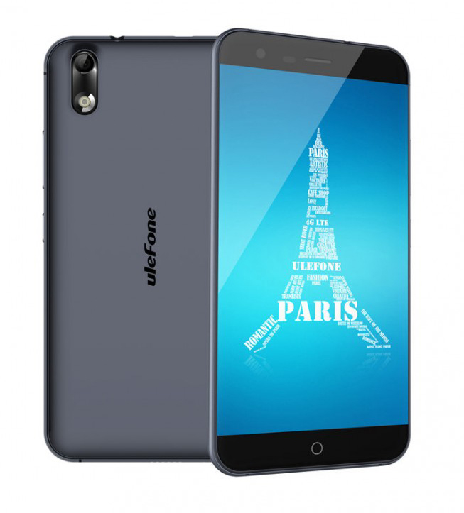 "Ulefone Paris 4G LTE 5"" HD 1280x720 IPS Android - Sort"