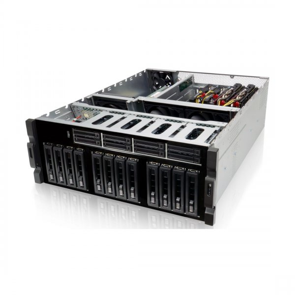 Iwill ecoia 4U RACK Xeon-W 1~6 Computing Accelerator / Deep Learning