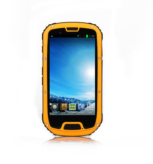 "Iwill S09 Rugged 3G 4.3"" FWVGA 960x540 IPS Android - Gul / Sort"