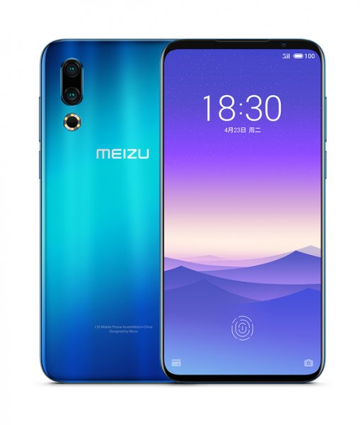 "Meizu 16S 4G 6.2"" FHD+ 2232x1080 AMOLED Android - Blå"