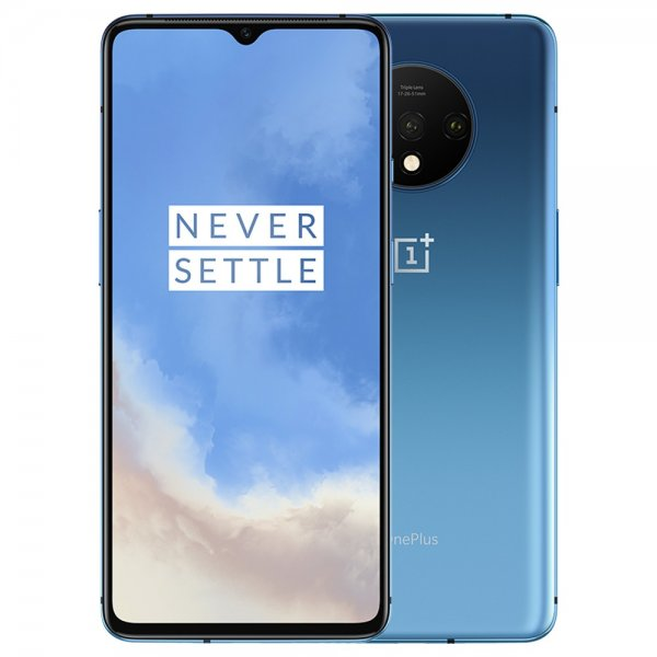 "OnePlus 7T 4G 6.55"" FHD+ 2400x1080 AMOLED Android - Blå"