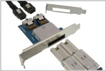 SAS Bracket for 2x ext. SFF-8088 to 2x int. SFF-8087