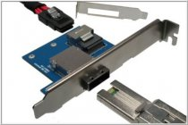 SAS Bracket for ext. SFF-8088 to int. SFF-8087