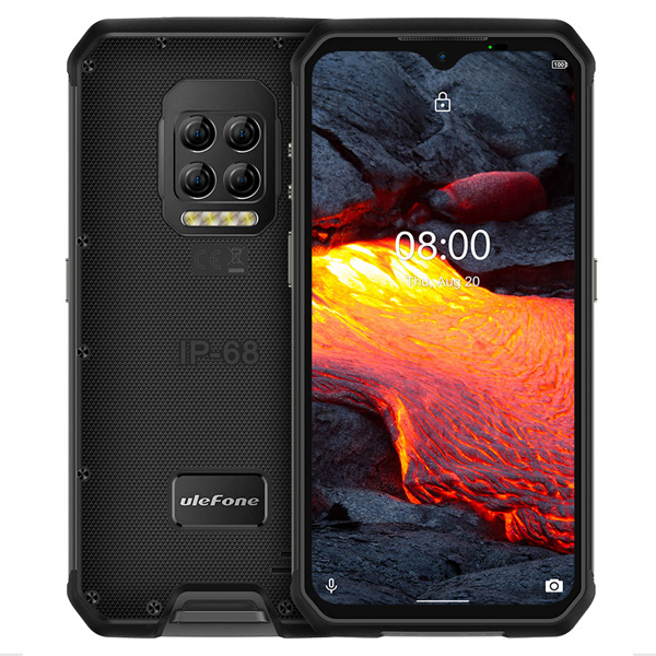 "Ulefone Armor 9E 4G LTE 6.3"" FHD+ 2340x1080 IPS Android - Sort"