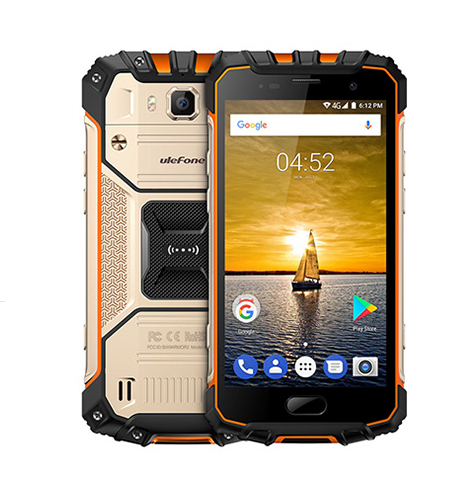 "Ulefone Armour 2 4G LTE 5"" FHD 1920x1080 LPTS Android - Gull"