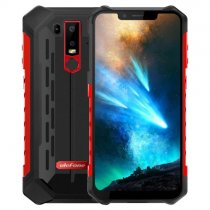 Ulefone Armour 6S 4G LTE 6.2″ FHD+ 2246x1080 LPTS Android - Rød