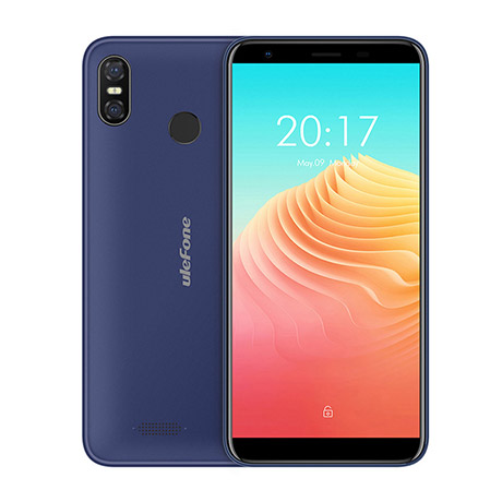 "Ulefone S9 Pro 4G LTE 5.5"" HD+ 1440x720 IPS Android - Blå"